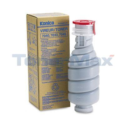 KONICA 7033 7040 TONER BLACK